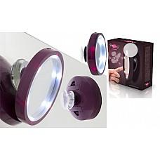 Pretty U palielināmais LED spogulis