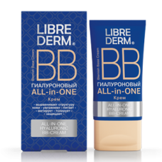 LIBREDERM Hialuronskābes BB krēms ALL in ONE,50ml