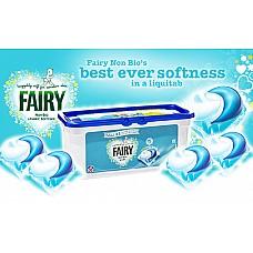FAIRY NON BIO PODS veļas mazgāšanas kapsulas (26 gab.)