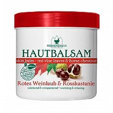 HERBAMEDICUS balzams ar sarkano vīnogu lapu un zirgkastaņu ekstraktiem