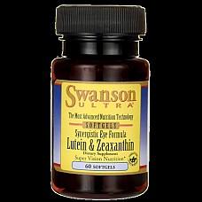 SWANSON Luteīns un zeaksantīns acu veselībai N60