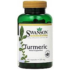 SWANSON: Tumeric N100 - kurkumas pulveris kapsulās
