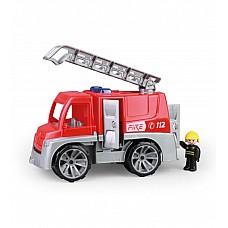 Ugunsdzesēju mašīna ar cilvēciņu Truxx 29 cm Čehija L04447