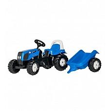 Bērnu traktors ar pedāļiem rollyKid Landini ar piekabi  (2,5-5 gadiem) 011841 Vācija