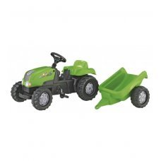 Bērnu traktors ar pedāļiem ar piekabi rollyKid- X  (2,5-5 gadiem) 012169 Vācija