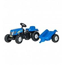 Bērnu traktors ar pedāļiem rollyKid NH T7040  (2,5-5g.) 013074