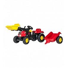 Traktors ar pedāļiem ar piekabi un kausu RollyKid-X 023127 (2,5-5 gadiem) Vācija