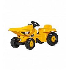 Bērnu pedāļu traktors rollyKid Dumper CAT  (2,5-5 gadiem) 024179 Vācija