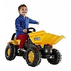 Bērnu traktors ar pedāļiem rollyKid Dumper JCB (2,5-5 gadiem) 024247 Vācija
