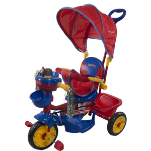 Kross Eddy tricycle JT06DH / NPZ (DzeltZila) SunBaby velosipēds (20444)